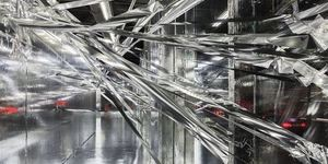 Shiny Climbable Art By Lee Bul