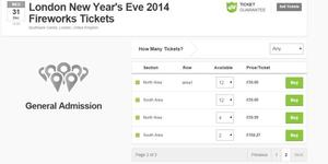 London New Year's Eve Fireworks Ticket Rip-Off