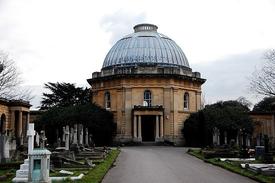London Month Of The Dead is being held in aid of the Brompton and Kensal Green  cemeteries.