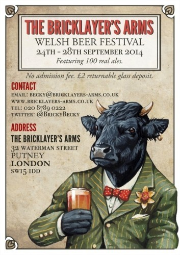 Bricklayer's Arms Welsh Beer Festival