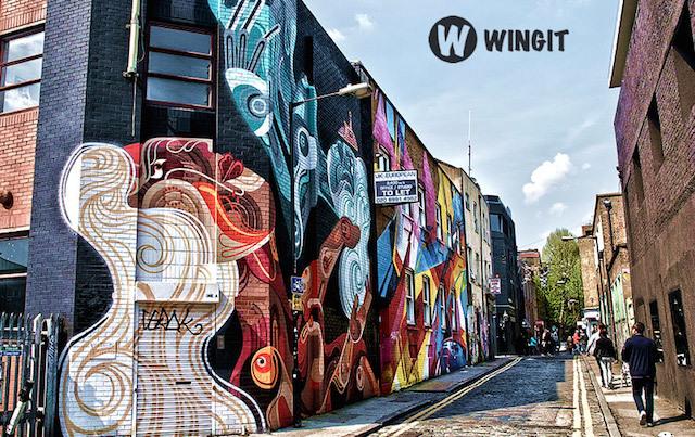 Wingit street art