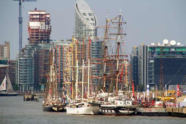 Tall Ships Festival by Ania Mendrek