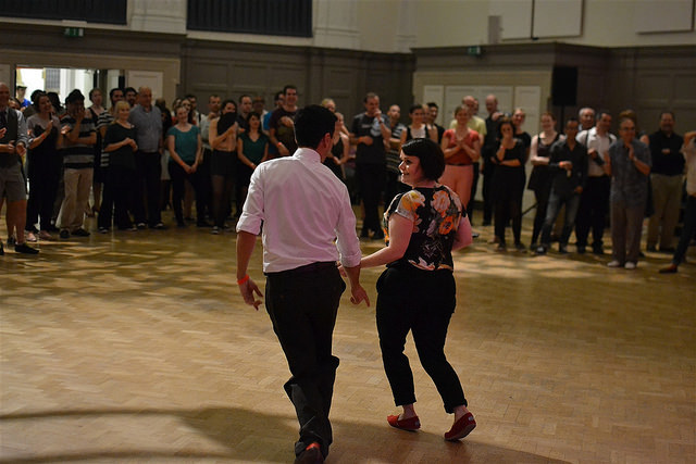 Modern day use of the Great Hall, swing dancing! Photo by psyxjaw via Flickr
