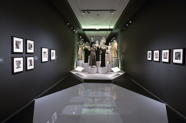 Installation image of Horst Photographer of Style  © Victoria and Albert Museum London
