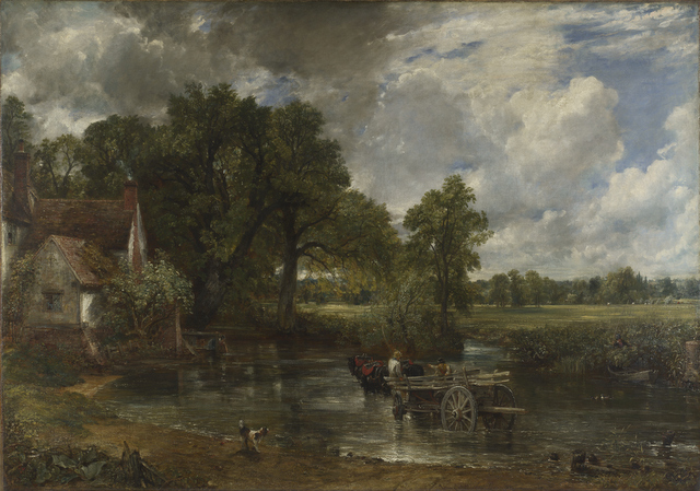 The Hay Wain,  John Constable 1821 © The National Gallery, London 2014