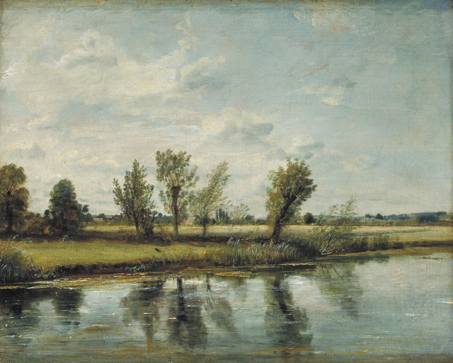 Watermeadows near Salisbury, John Constable 1829/30  © Victoria and Albert Museum, London
