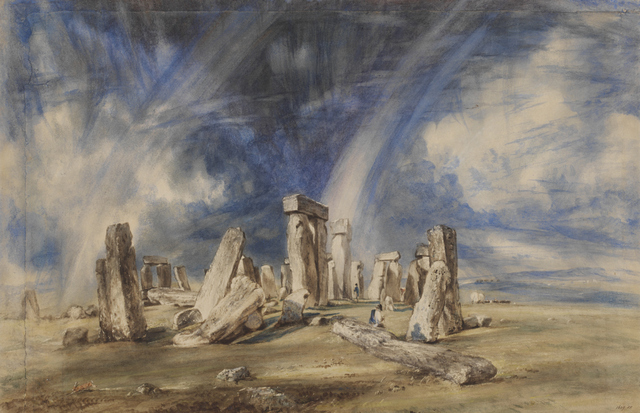 Stonehenge,Watercolour   John Constable c.1835  © Victoria and Albert Museum, London