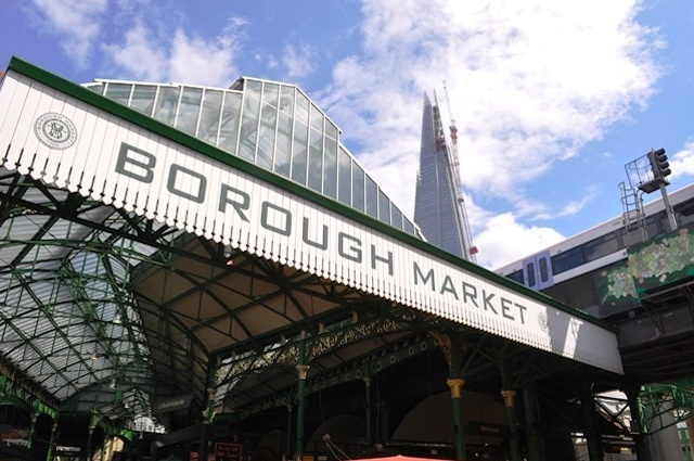 Londonist's own Beth captures the market dwarfed by its relatively new neighbour, the Shard.
