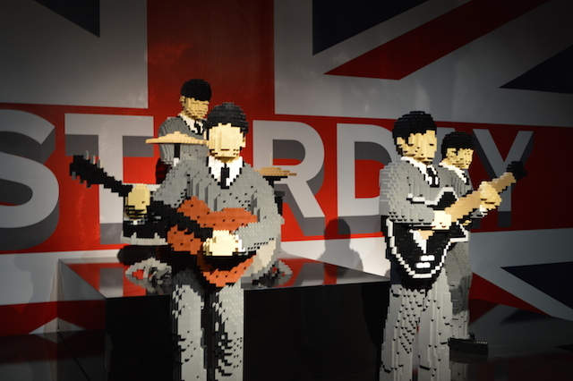 The Fab Four have us grasping for Lego Beatles puns. I Want To Build Your Hand? Norwegian Plastic? Brick-it to Ride? We'll stop there.