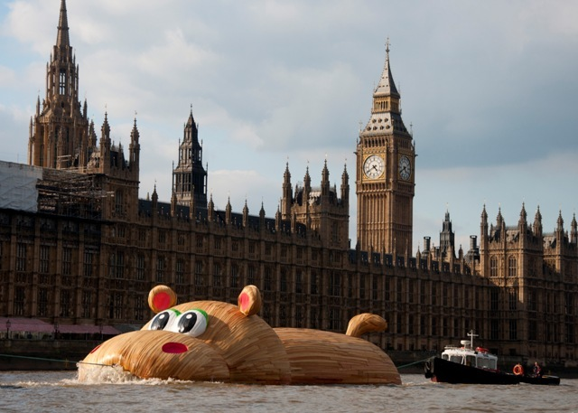 HippopoThames Arrives At Nine Elms: Podcast And Photos
