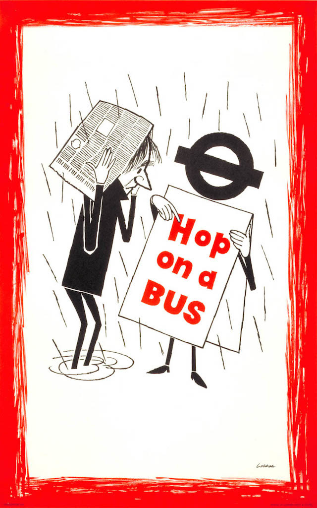 Hop on a Bus, by Lobban, 1958