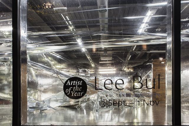 Installation View Lee Bul at KCC, London Photo Junyong Cho, Courtesy the artist, KCC and Ikon