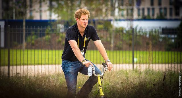 Prince Harry at the Olympic Park, photo by phil h