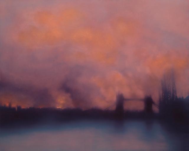 Jenny Pockley. Blitz Tower Bridge, 2014.