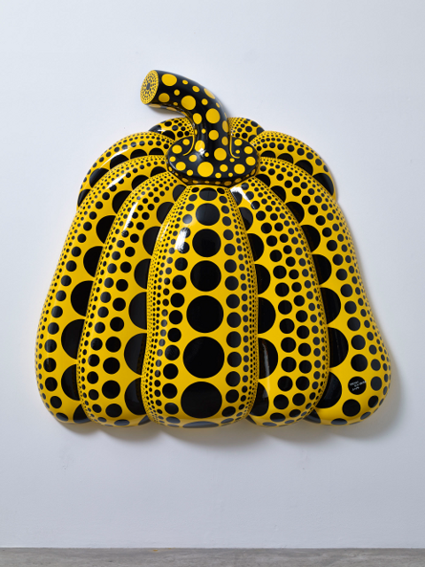 Kusama (2014). I Carry on Living with the Pumpkins. (Photo: Victoria Miro Gallery)