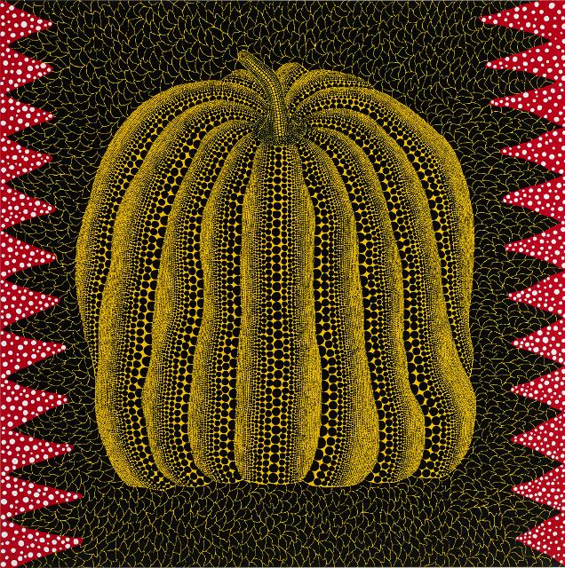 Kusama (2014) Pumpkin. (Photo: Victoria Miro Gallery)