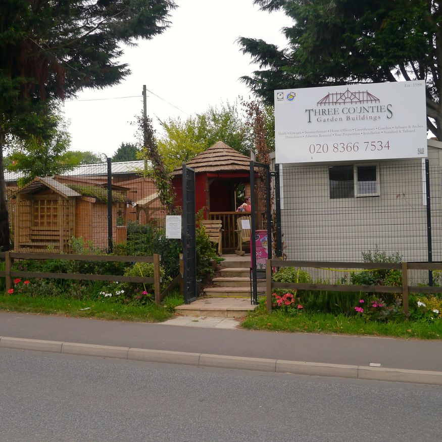 If you need a shed, folly, retreat or wendy house this is the place to come