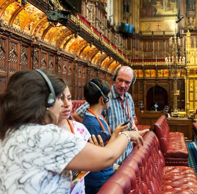 Inside the Lords Chamber