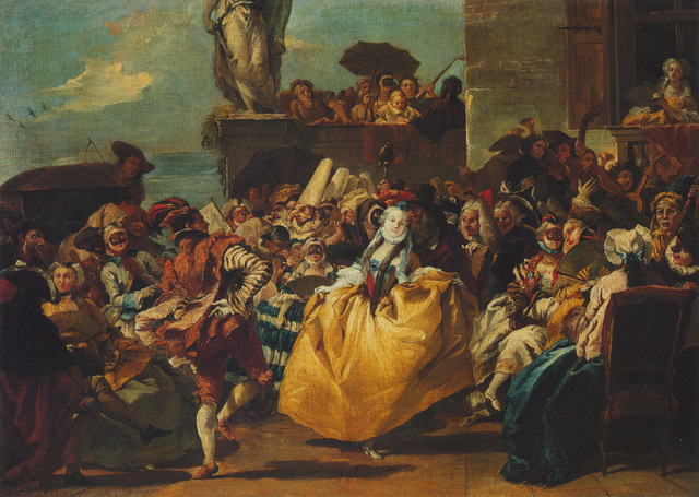 The Minuet, attributed to Giovanni Domenico Tiepolo, sequestered by the Republic of the Philippines and subsequently sold by Christie's on the 11 of January 1991.