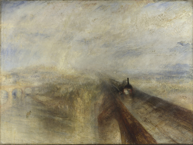 Rain, Steam and Speed – The Great Western Railway, 1844. (The National Gallery, London).