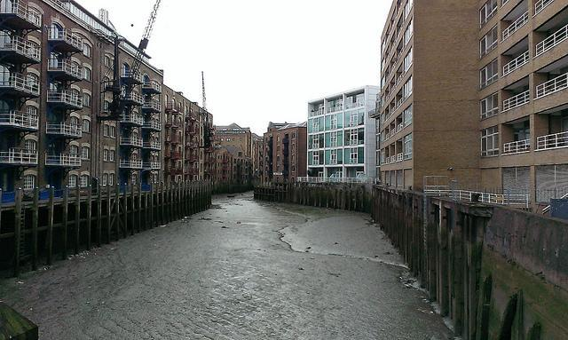 St Saviour's Dock, by Tom Chivers