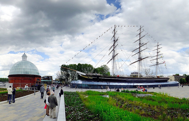 Cutty Sark in Greenwich, by Andrew Smith