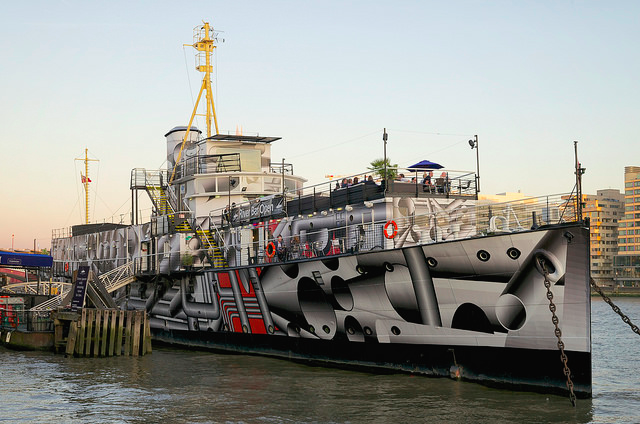 HMS President, by Simon Goldsworthy