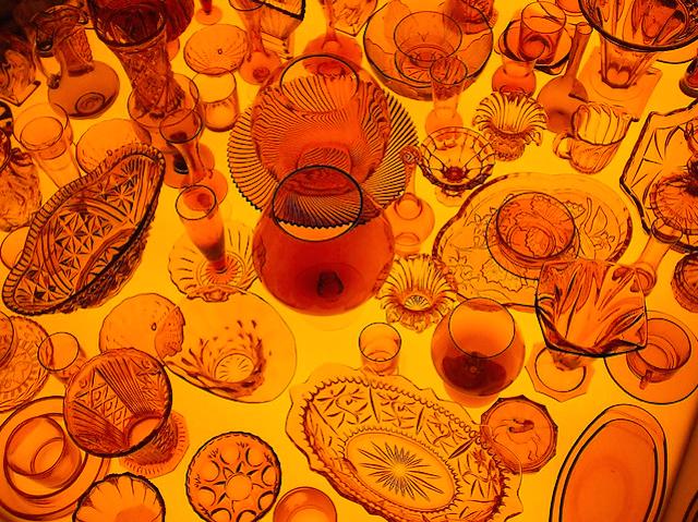 Orange design installation, part of London Design Week back in 2006, by Ben