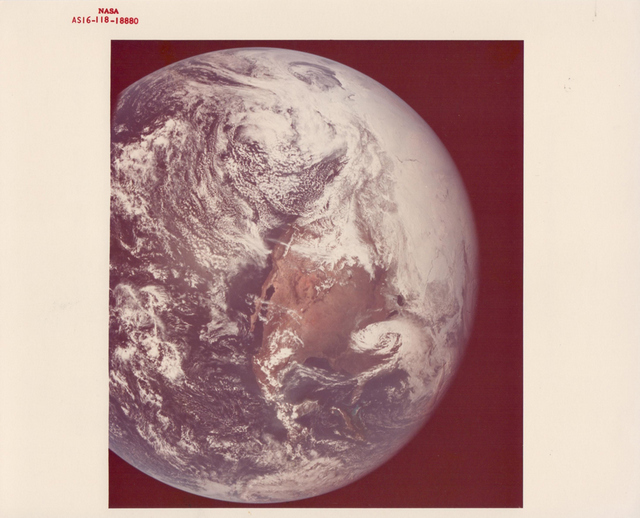 United States, Mexico, Central America, Apollo 16, April 1972, NASA, BREESE LITTLE