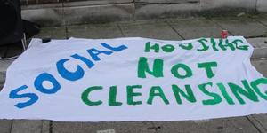 Focus E15 Protest Highlights Housing Going To Waste