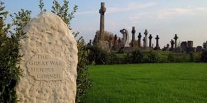 Video: The Great War Heroes Corner, Greenwich Cemetery
