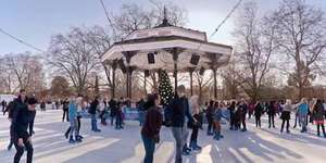 Seasonal Skating: London's Christmas Ice Rinks 2014