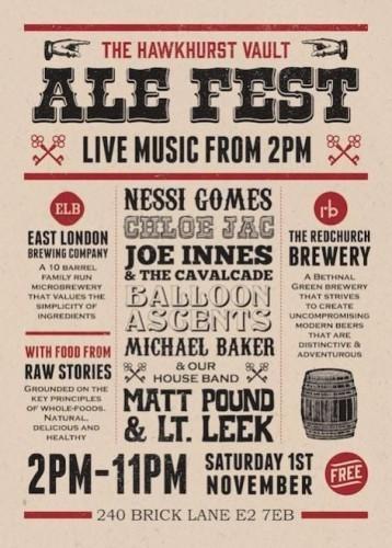 Hawkhurst Vault Ale Fest