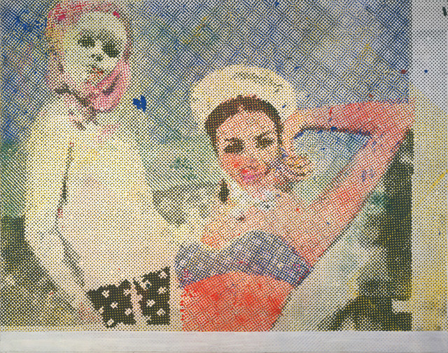 Sigmar Polke, Girlfriends (Freundinnen) 1965/66. © 2013 Estate of Sigmar Polke