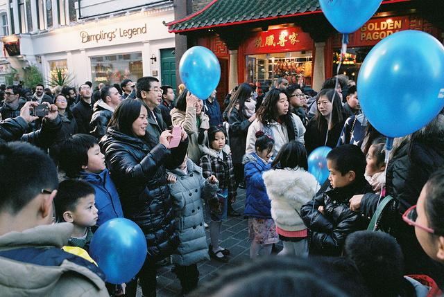 Chinese New Year 2014 in Chinatown, by Fabio Lugaro.