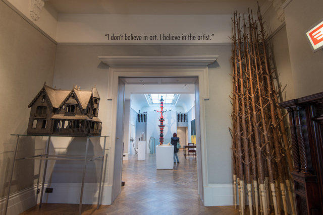 Installation images, courtesy of The Fine Art Society, Photographed by Gina Soden