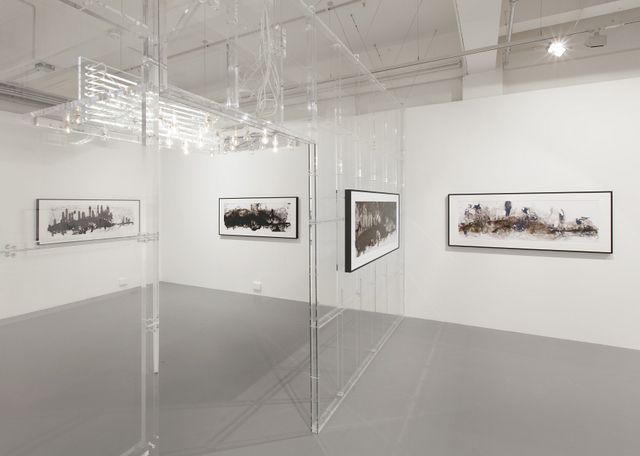 Installation shot from Philippe Parreno. Courtesy the gallery. Photo credit: Andrea Rossetti