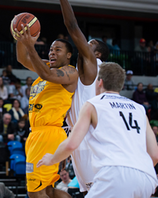 London Lions play at the Copper Box