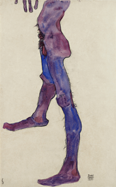Male Lower Torso, 1910. The Leopold Museum, Vienna