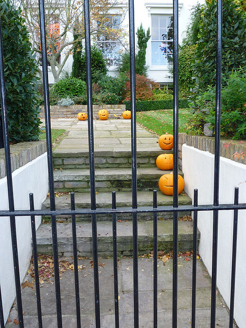 A Hampstead Halloween, by Lindsey Clarke