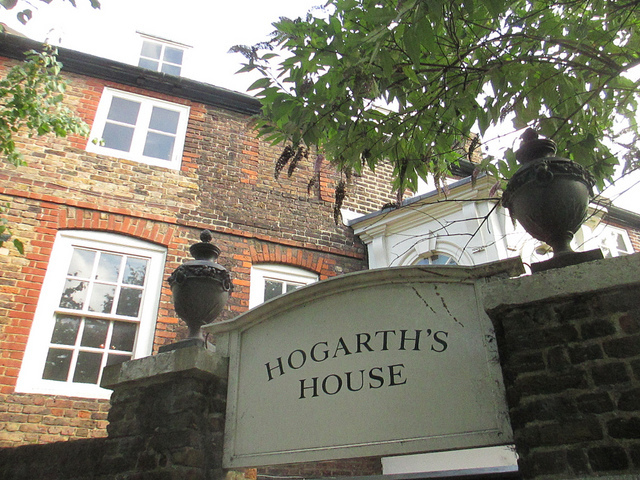Hogarth's House, one of London's many fine house museums. You can visit for free.