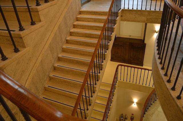 Original 1930s staircase.