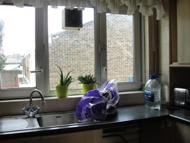 Kitchen in one of the Doran Walk flats