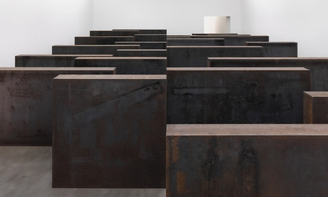 The mazy 'Ramble'. Courtesy Richard Serra, Mike Bruce and Gagosian.