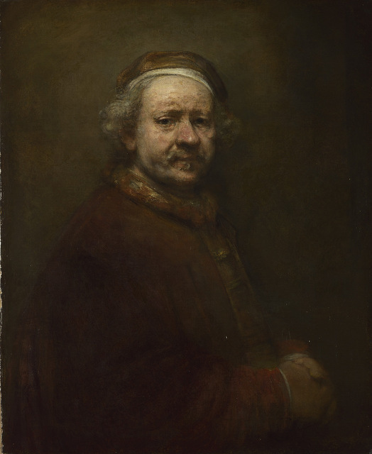 Self Portrait at the Age of 63, 1669 © The National Gallery, London