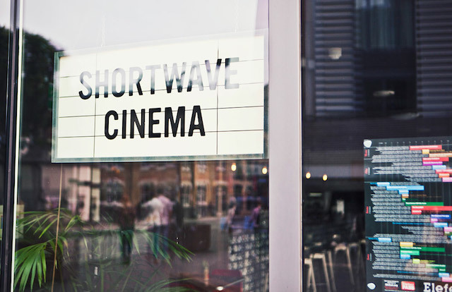 Shortwave Cinema, Bermondsey Square's winning combo of film, booze and – often – excellent carrot cake, comes highly recommended by Jones for those looking for an intimate setting when going to the pictures.