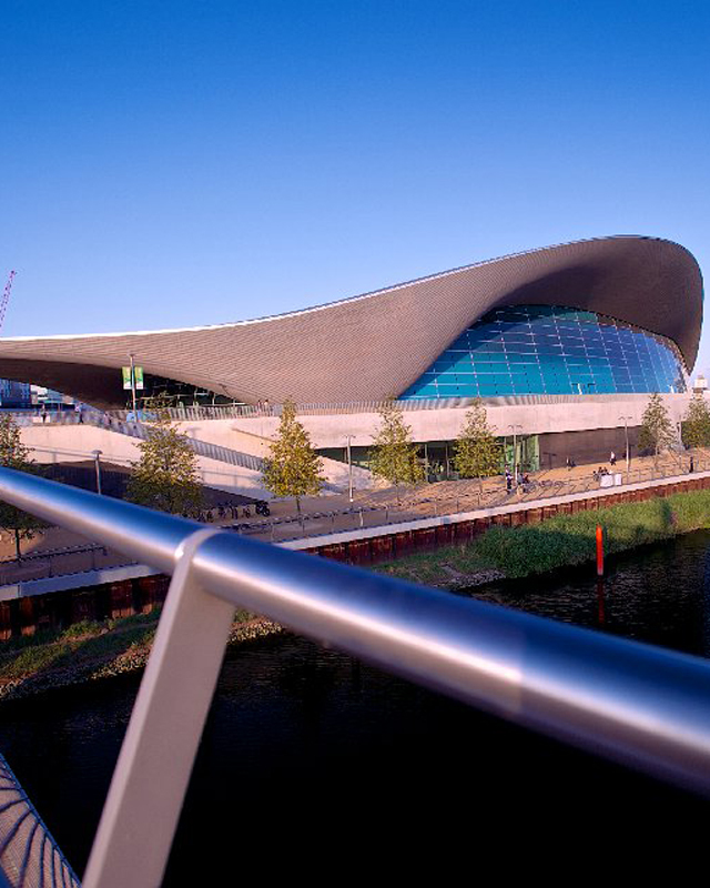 Have you swum in the Aquatics Centre yet?
