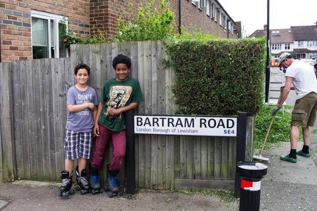 Bartram Road, SE4, by Jonathan Taylor