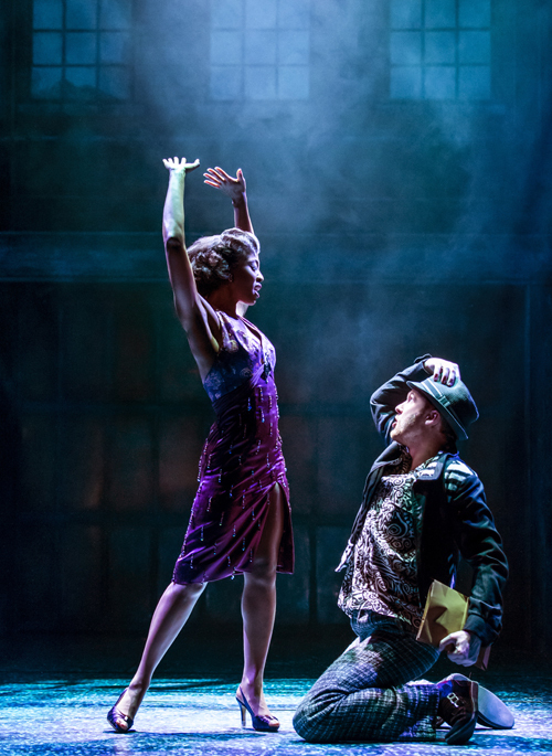 Memphis: The Musical starring Beverley Knight (Felicia Farrell) and Killian Donnelly (Huey Calhoun). Image by Johan Persson.