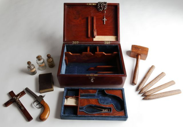 Vampire Hunting Kit, Victorian ©Royal Armouries